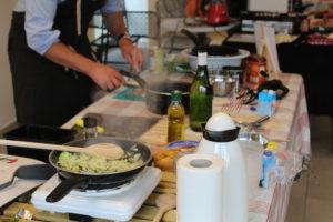 Activité teambuilding cuisine